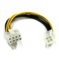 ATX Power Cord 4 Pin Female to 8 Pin Male 30cm