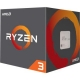 AMD CPU YD130XBBAEBOX Ryzen 3 AM4 1300X 4 Cores 4 Threads 65 Watts 10MB 3700MHz Retail
