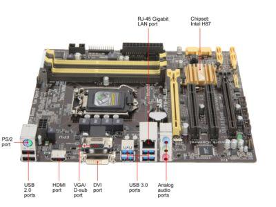 Asus Lga 1150 Socket Asus H87m-plus/csm Lga 1150