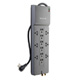 BELKIN 12 OUTLET HOME/OFFICE SURGE PROTECTOR WITH TELEPHONE AND COAXIAL PROTECTION P/N#BE112230-08