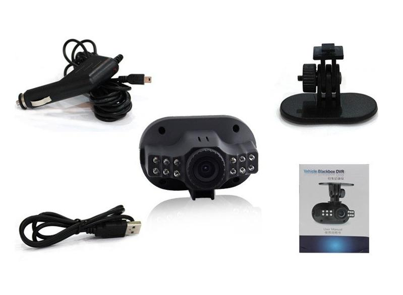 HD1080P Dash Car Camera Vehicle Camcorder IR Night Vision Blackbox C600 CAR Driving Recorder as a Road Safety Guard