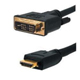 HDMI to DVI 18+1 Cable Gold Plated 15M/50FT