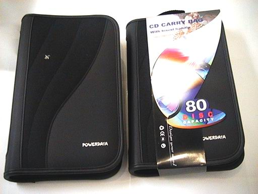 CD/DVD WALLET - HOLDS 80 PIECES