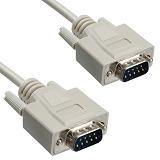 DB 9 Male to DB 9 Male Serial Cable   2M/6FT