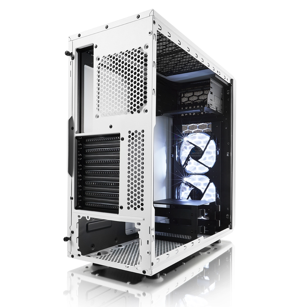 Fractal Design Case FD-CA-FOCUS-WT-W Focus G White Window ATX/mATX/ITX Retail