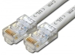 CAT5E UTP CROSSOVER (Peer to Peer) Cable GREY -  30M/100FT