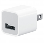 USB WALL CHARGER FOR iPHONE/IPOD, 5V/1.0A