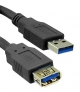 USB3.0 AM-AF Super High Speed Extension Cable -   2M/6ft