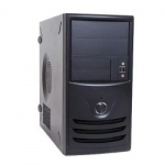 IN-WIN CASE Z589T.CQ350TBL MATX MINI TOWER CASE BLACK 350W V2.31 2 2 (1) BAYS HD AUDIO