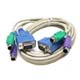 KVM 3-in-1 Cable HD15M/M+MD6M*2 M/M   2M