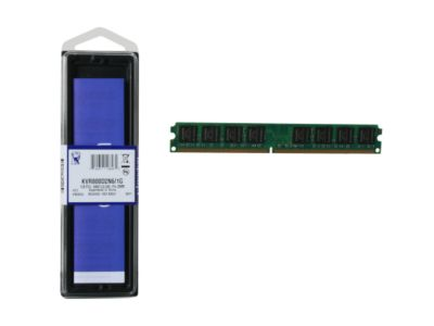Kingston 1GB 240-Pin DDR2 800 (PC2 6400) Desktop Memory Model KVR800D2N6/1G