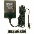 Regulated Universal AC Adapter, Ideal for most portable electroics requiring up to 1.7 Amp