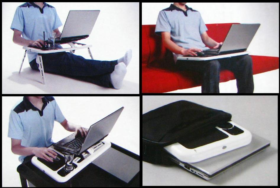 FOLDABLE LAPTOP TABLE WITH FAN