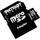 PATRIOT 32GB MICRO SDHC SECURE DIGITAL CLASS 10 MEMORY CARD W/ADAPTER