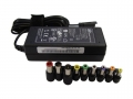 SPI 65W NOTEBOOK ADAPTOR 19V @ 3.42A W/6 PLUG RETAIL WITH POWERCORD