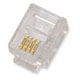 RJ11 TELEPHONE CONNECTOR 6P4C  10 Pieces/Pack