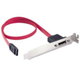 SATA DATA Cable with Bracket