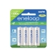 SANYO ENELOOP AA 4PACK 2000MAH RECHARGEABLE UP TO 1500X