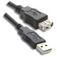 USB2.0 AM-AF Extension Cable -     6 inch