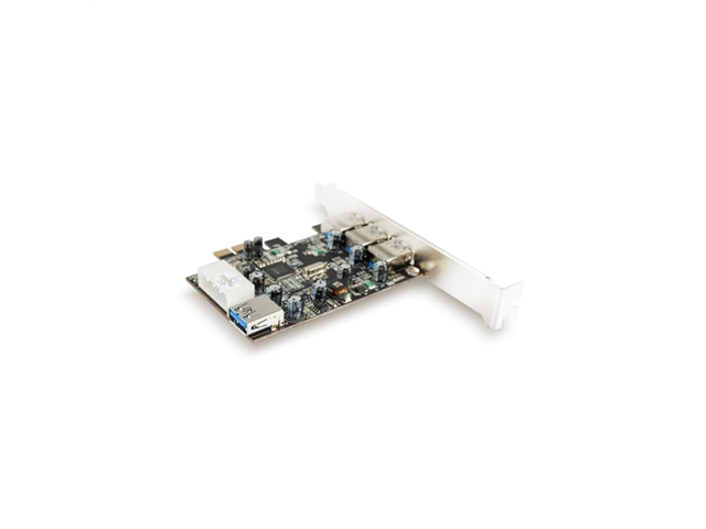 Vantec IO Card UGT-PC341 4Port SuperSpeed USB 3.0 PCI Express Host Card RetailACTIVE