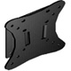 FLAT PANEL WALL MOUNT (Black) for 10 - 24 inch VESA 50/75/100 LCD TV