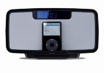 Sergio iPRO with CD/Radio for iPod - iPod mini & iPod nano Player/Recharger with Remote Control